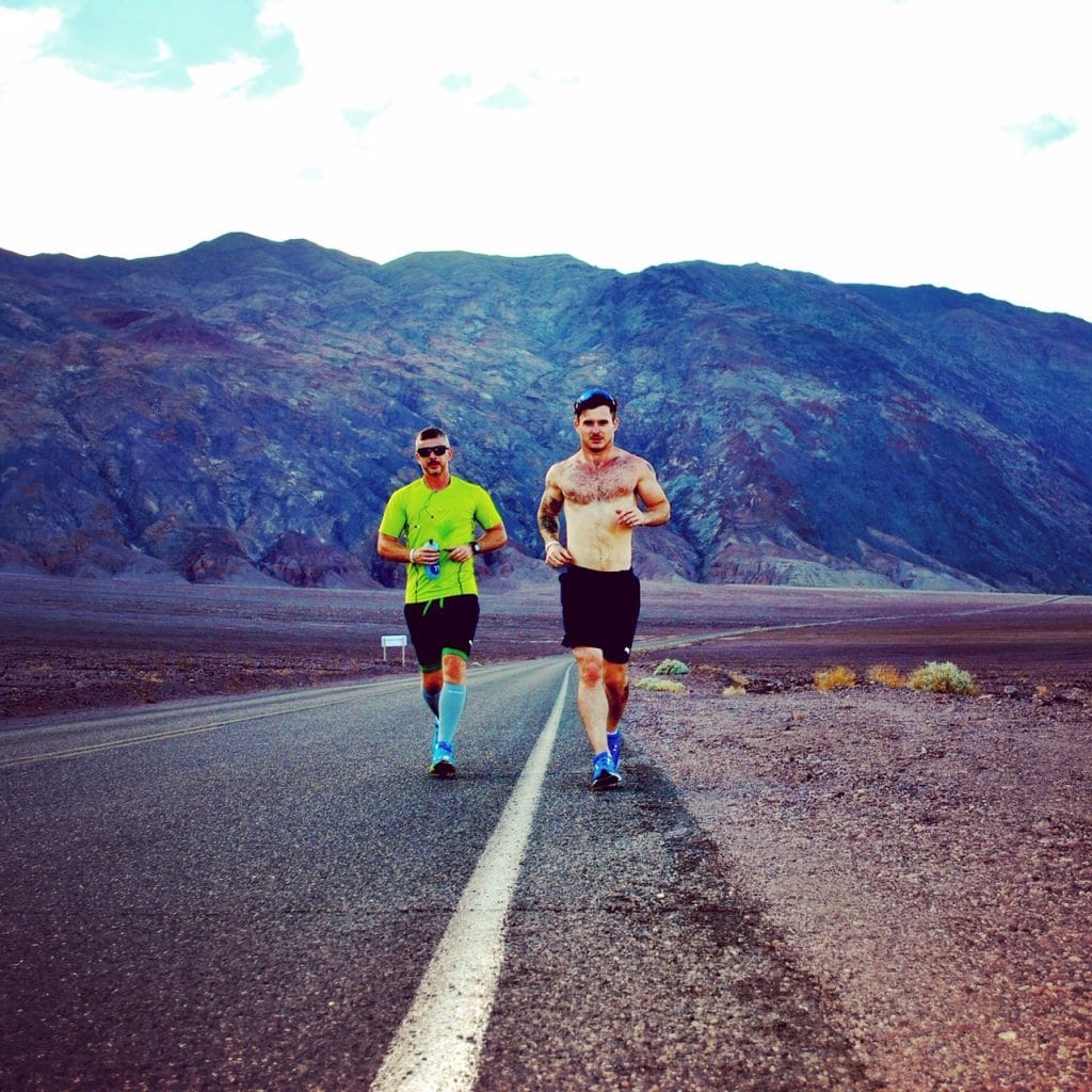 Rhys and Scott Jenkins The National Running Show 2020