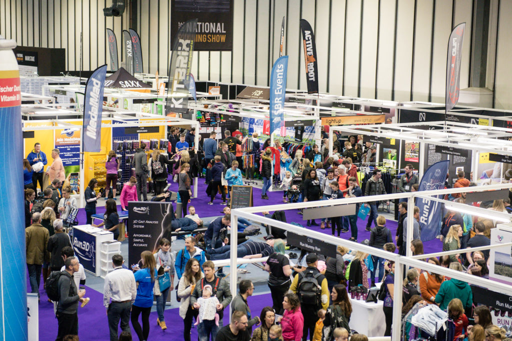The National Running Show exhibitors