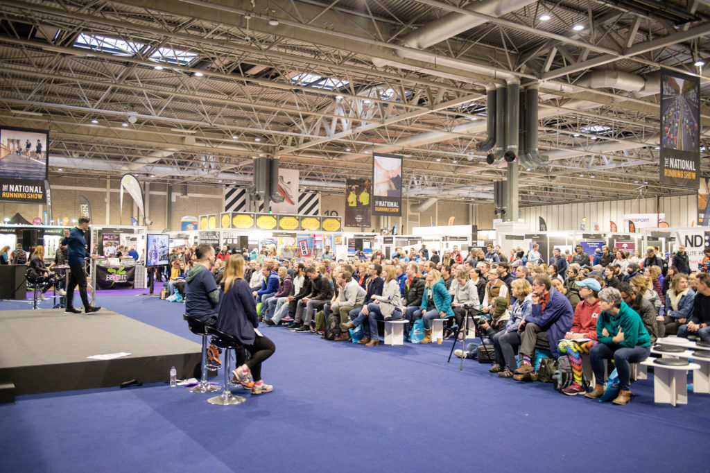 National Running Show main stage speakers